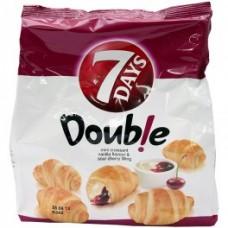 7 DAYS Mini Croissant cu crema de vanilie si visine